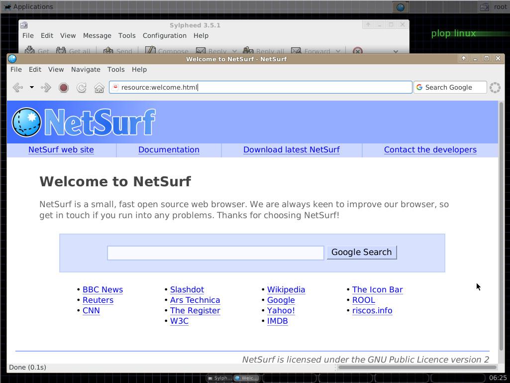 Plop Linux - Desktop Version